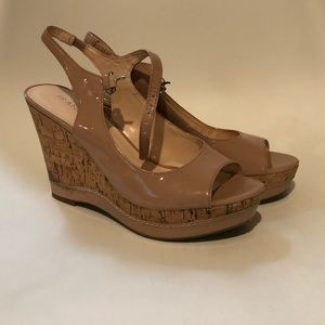 Franco Sarto Cork Wedges